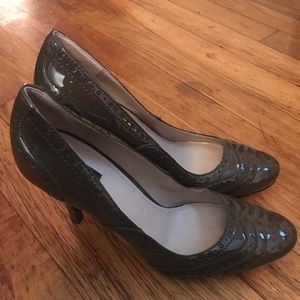 Joan and David Patent Leather Heels